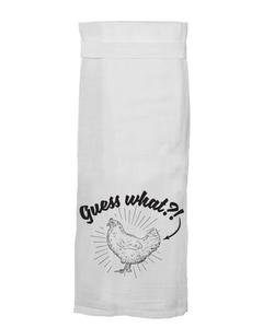 Flour Sack Towel - Guess What?! - 116052