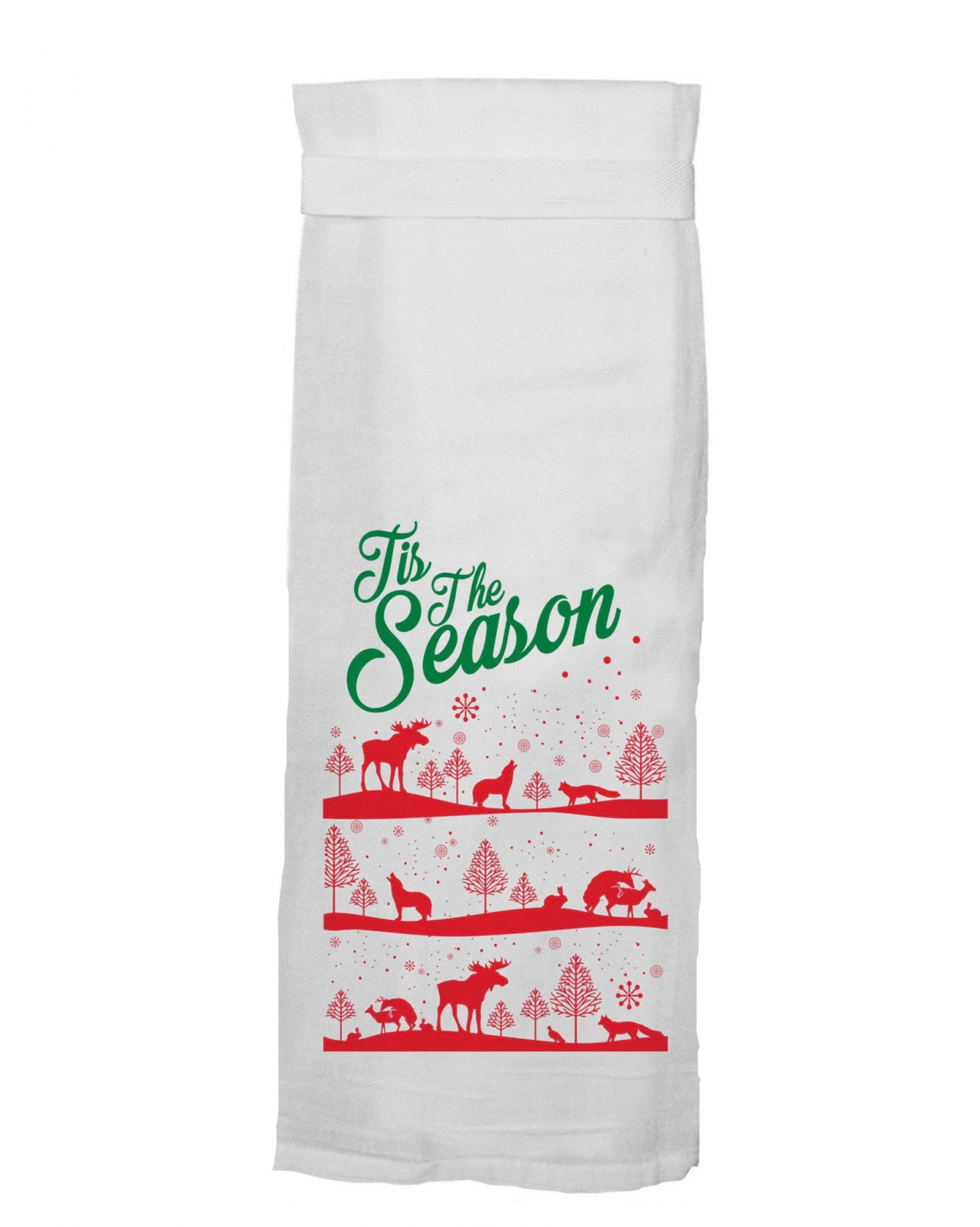 Flour Sack Towel - Tis the Season