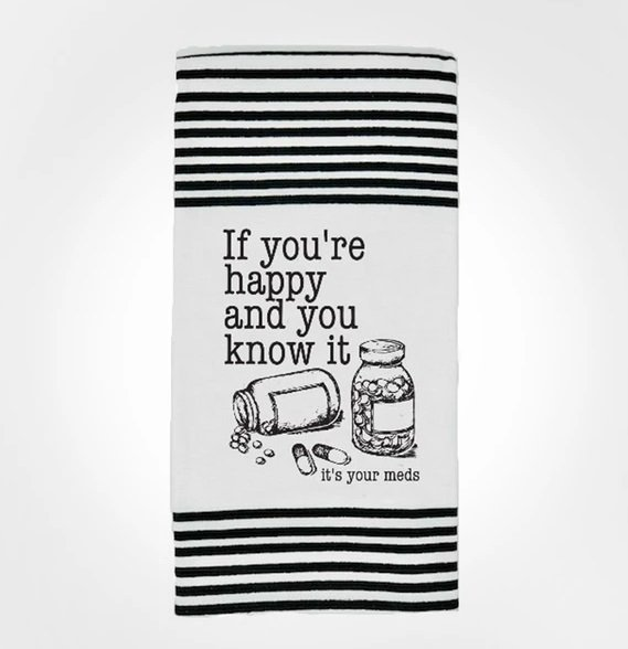Terry Towel - If you're happy and you know it