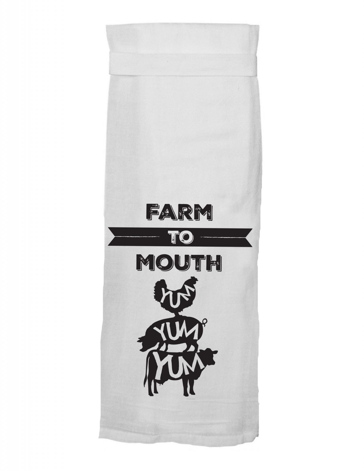 Flour Sack Towel - Farm to Mouth