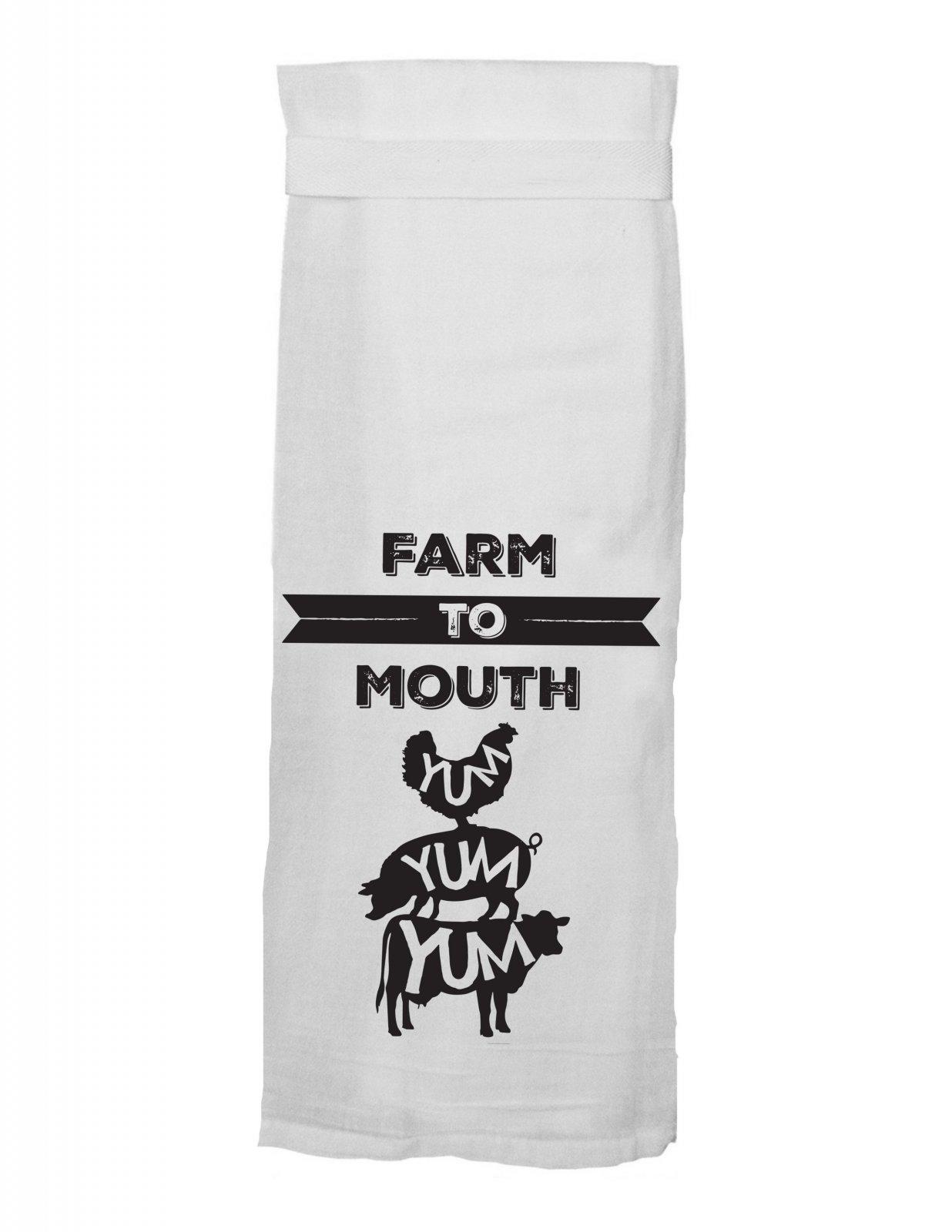 Flour Sack Towel - Farm to Mouth - 119001