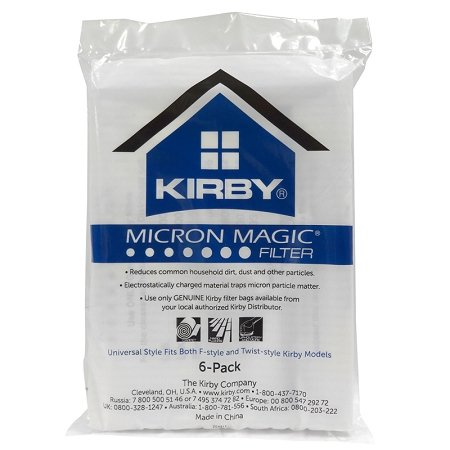 Kirby Universal Vacuum Bag 6pk - Allergen