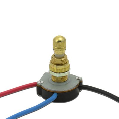 3 Way Twist Switch - Brass