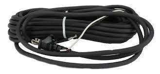 Vacuum Cord 30' Black 2 Wire