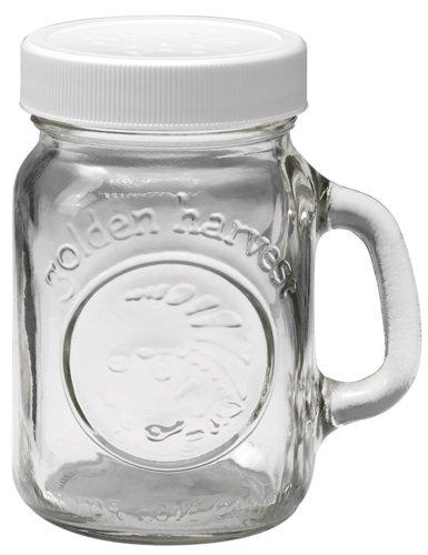 Glass Salt & Pepper Shaker 4oz