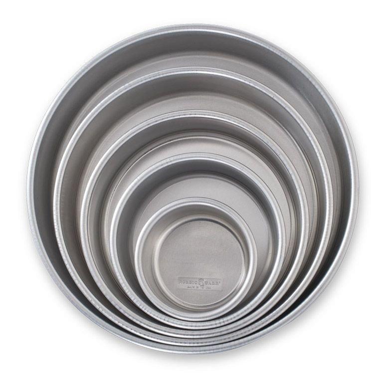 Nordic Ware Cake Pan Set 5pc Set