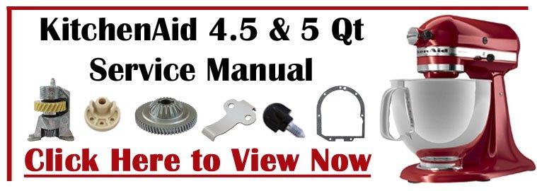 KitchenAid 4.5 & 5 Qt Service Manual