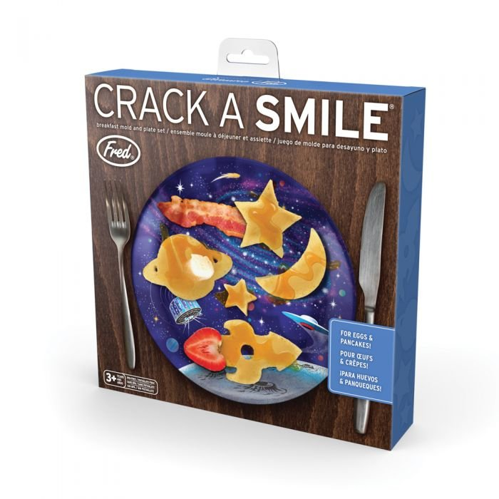 Crack A Smile Breakfast Set - Space