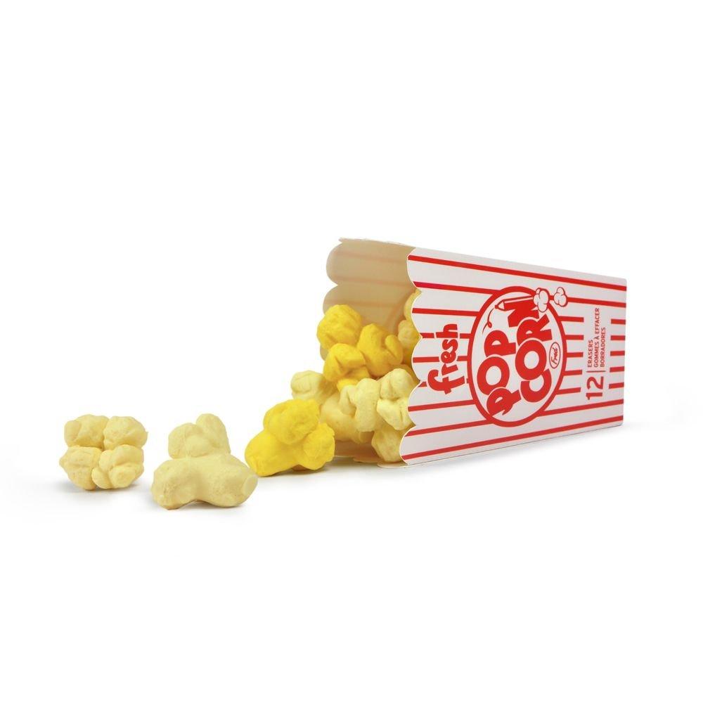 Fresh Popcorn Erasers - Box of 12