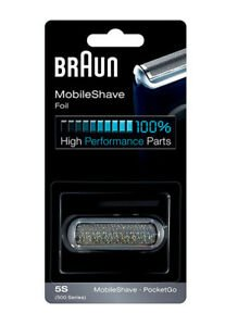 Braun 5s Pocket Foil & Frame