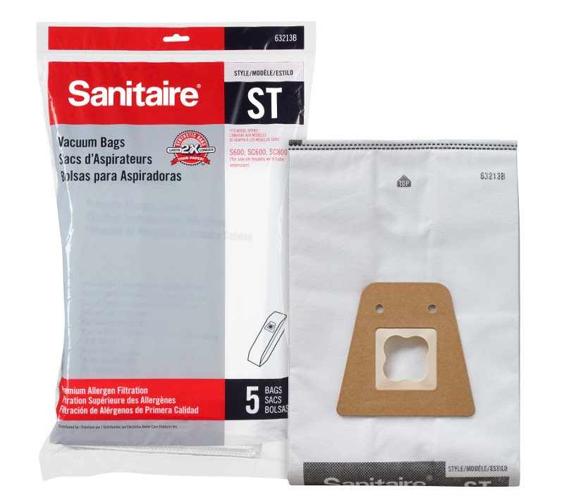 Sanitaire Vacuum Bags - Style ST Bag (5-Pack)