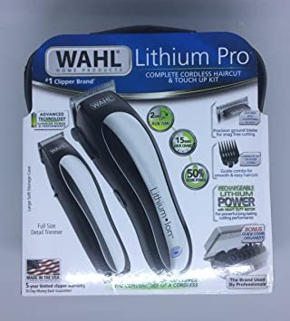 Wahl Cordless Clipper and Trimmer Set