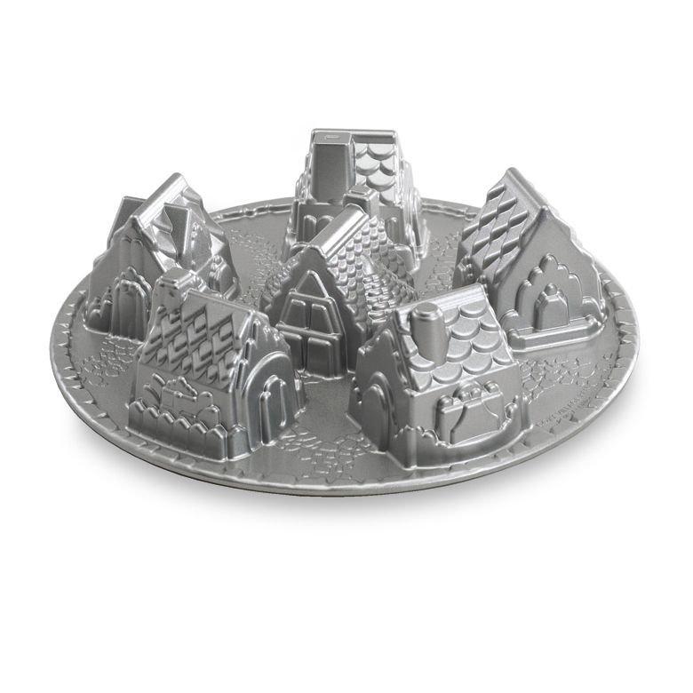 Nordic Ware Cozy Village Baking Pan