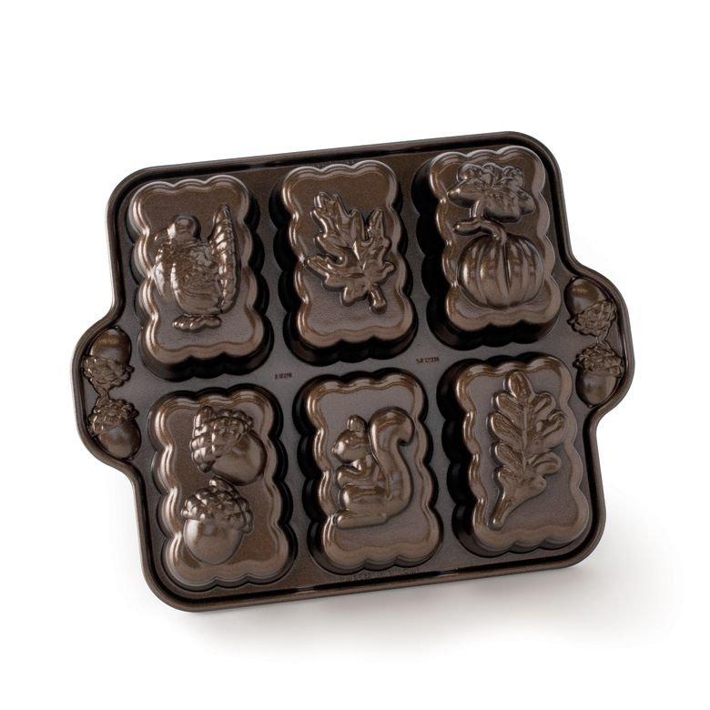 Nordic Ware Harvest Mini Loaf Pan