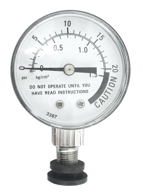 Presto Pressure Canner Steam Gauge - With Rubber Adapter