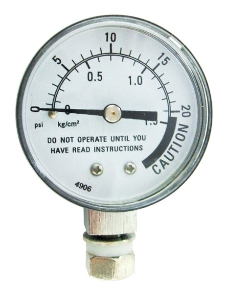 Presto Pressure Canner Steam Gauge -  With Nut & Washer