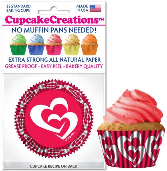 Cupcake Liners - Sweethearts