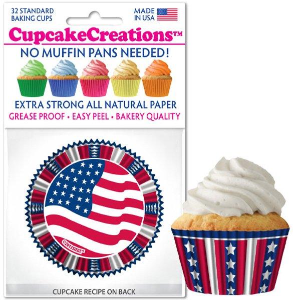 Cupcake Liners - USA