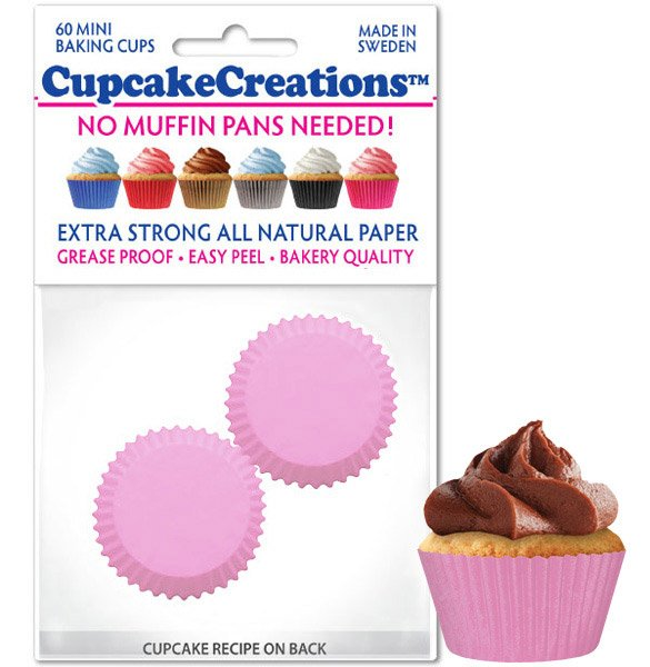 Cupcake Liners Mini - Pink