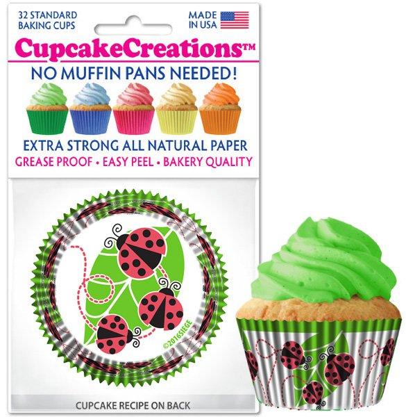 Cupcake Liners - Ladybugs