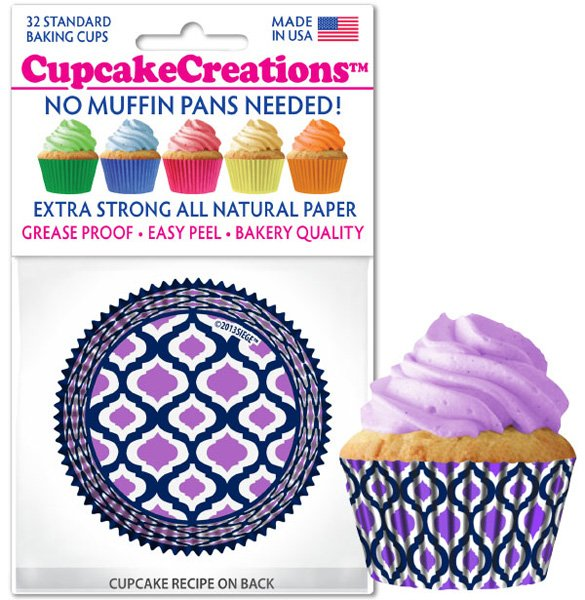 Cupcake Liners - Morocco Lavender
