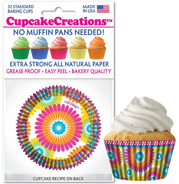 Cupcake Liners - Color Burst