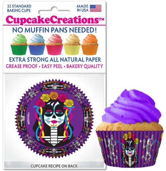 Cupcake Liners - Dia de los Muertos