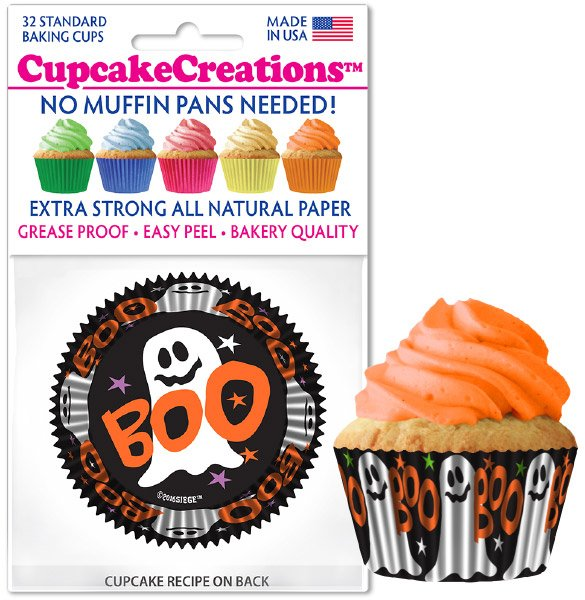 Cupcake Liners - Friendly Ghost