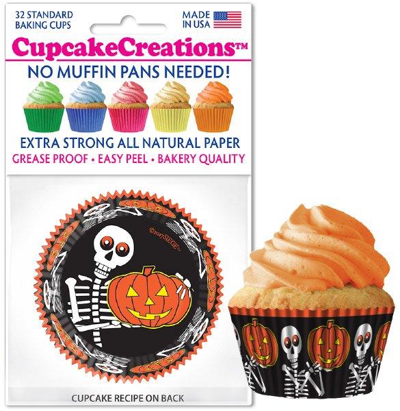 Cupcake Liners - Frightful Friends