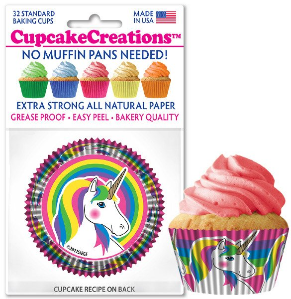 Cupcake Liners - Unicorns
