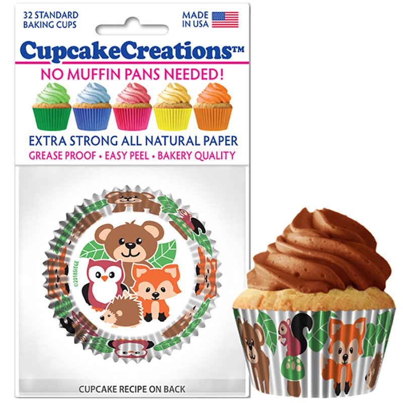 Cupcake Liners - Woodland Friends
