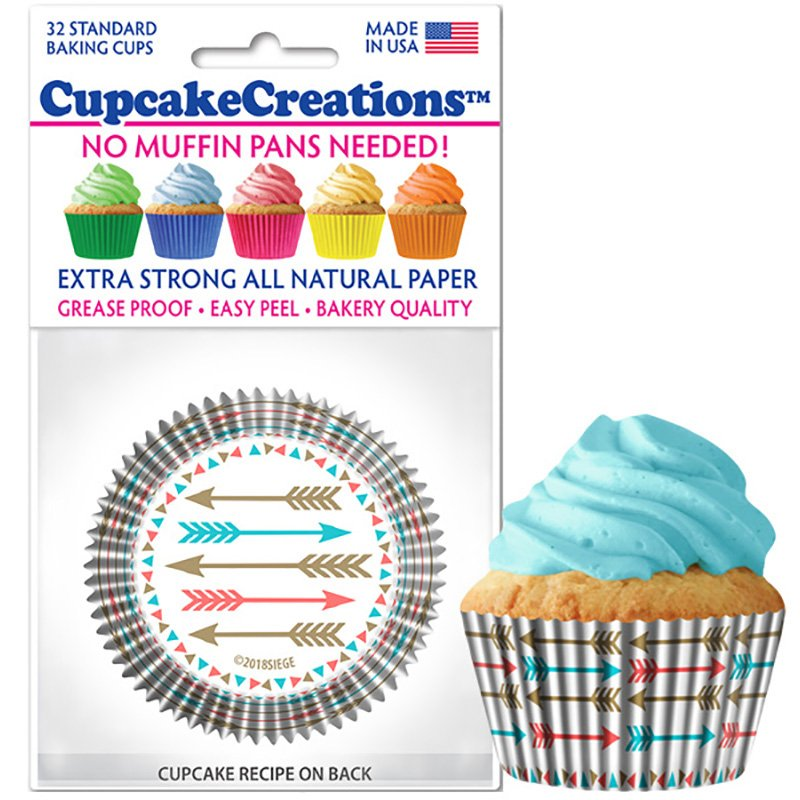 Cupcake Liners - Arrows