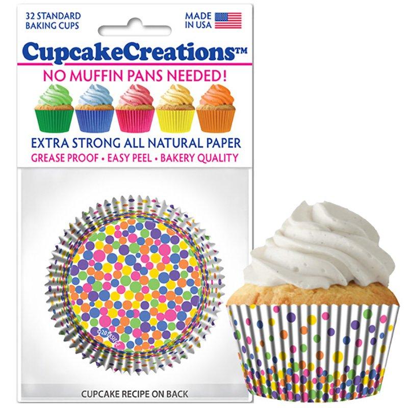 Cupcake Liners - Fun Dots
