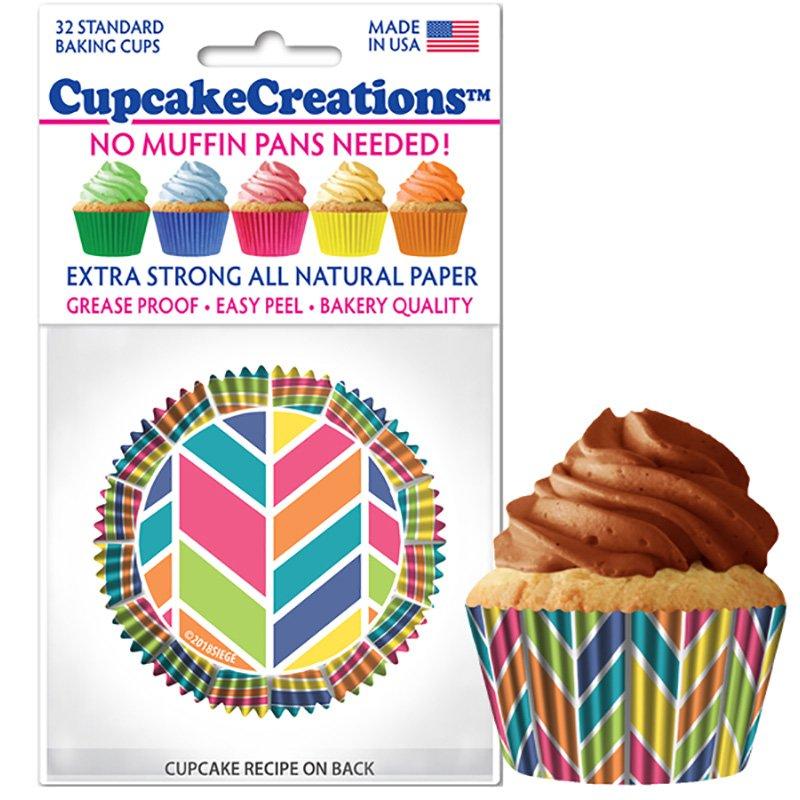 Cupcake Liners - Kaleidoscope
