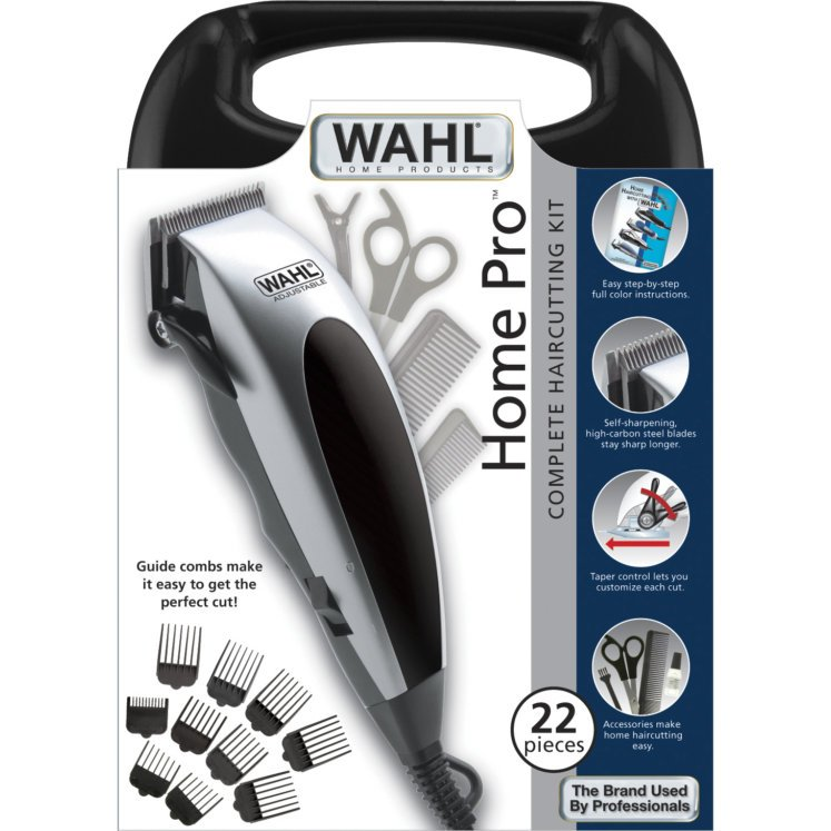 Wahl Home Pro 22pc Clipper Kit