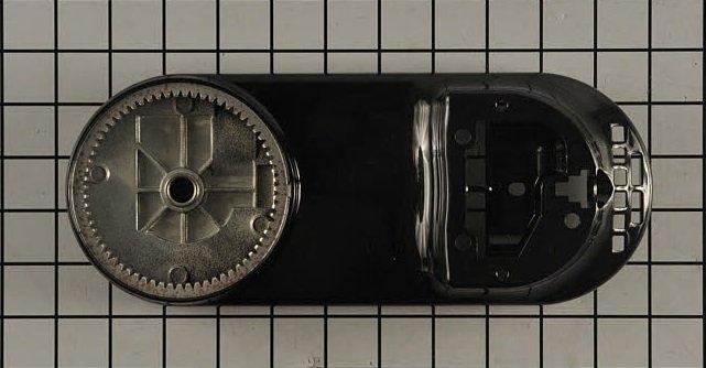 5 & 6 QT Lower Gearcase - Onyx Black OB - 9706311