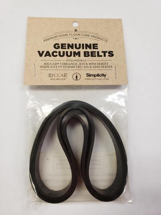 Riccar Vaccum Belts - 2 Pack