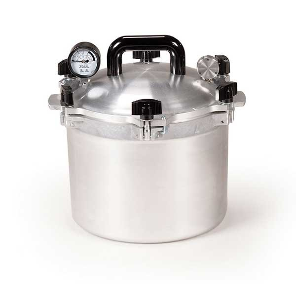 All American Heavy Cast Aluminum Pressure Canner - 10.5 Quart