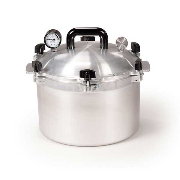 All American Heavy Cast Aluminum Pressure Canner - 15.5 Quart - 915