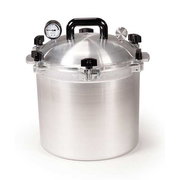 All American Heavy Cast Aluminum Pressure Canner - 21.5 Quart - 921