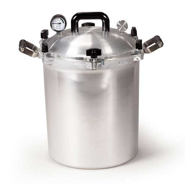 All American Heavy Cast Aluminum Pressure Canner - 30 Quart - 930