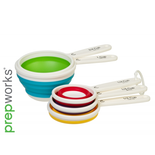 Progressive Collapsible Measuring Cups