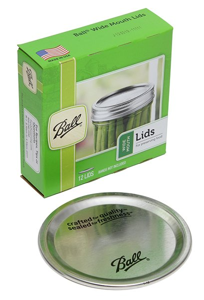 Ball Wide Mouth Dome Lids (12-pack) - 42000