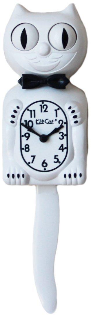 Kit-Cat Clock - White