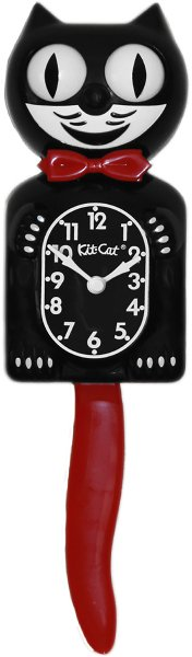 Kit-Cat Clock - Crimson Royale