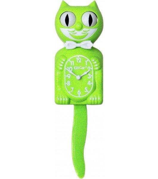 Kit-Cat Clock - Fun Chartreuse