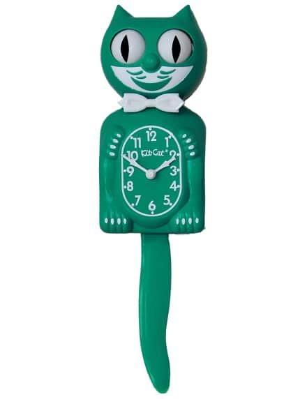 Kit-Cat Clock - Green Beauty