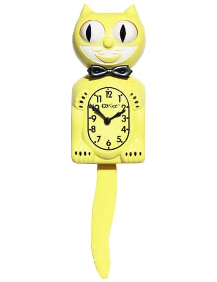 Kit-Cat Clock - Majestic Yellow