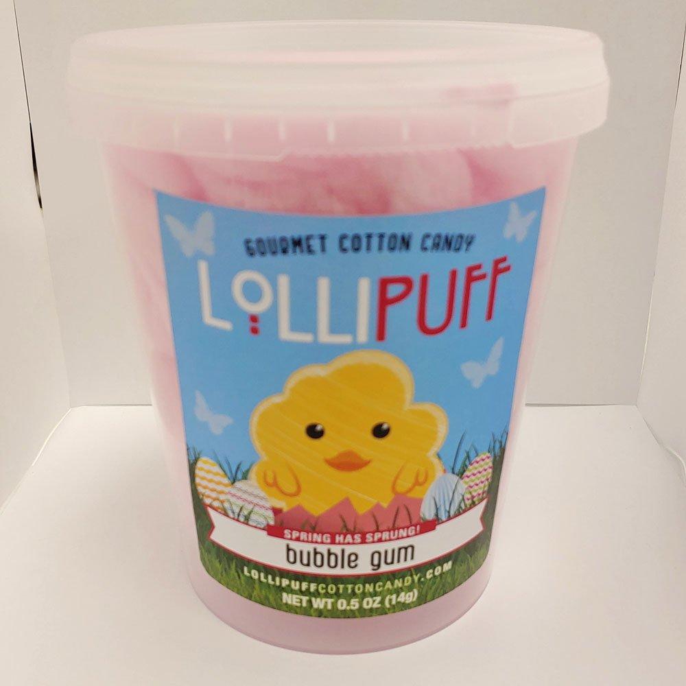 Lollipuff Cotton Candy Tub - Bubble Gum