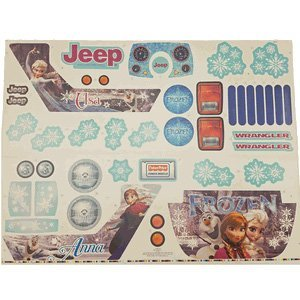 Jeep Label Sheet Frozen
